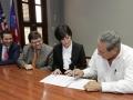 Firma de Convenios - Bomberos - Policia - Sec. Gobernación 4