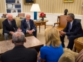 President Obama Meets with Crew of Apollo 11