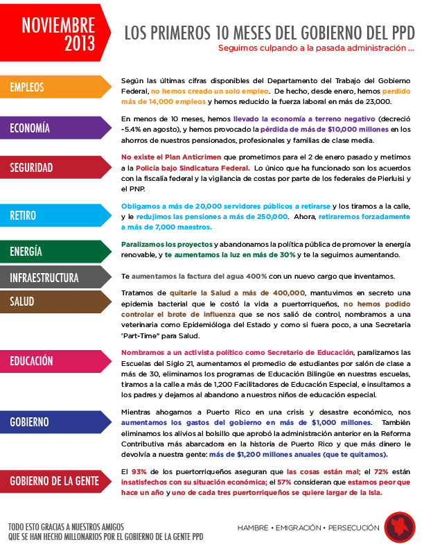 verdadero anuncio del ppd - 4.nov.2013