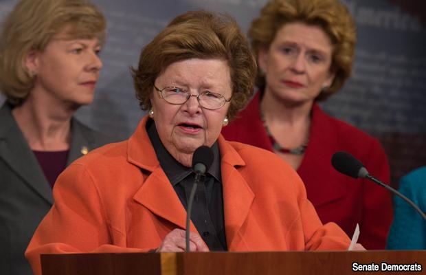 Barbara Mikulski, presidenta de la Comisión de Asignaciones del Senado presentó un proyecto reducido en $1.000 millones de dólares que será discutido este miércoles, lo republicanos harán lo propio.