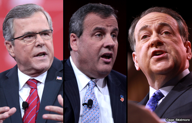 jeb-bush-chris-christie-y-mike-huckabee